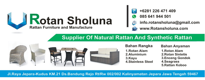 Furniture natural rattan and synthetic rattan